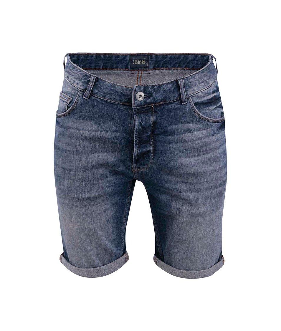 Tmavě modré džínové šortky !Solid Lt. Joy stretch