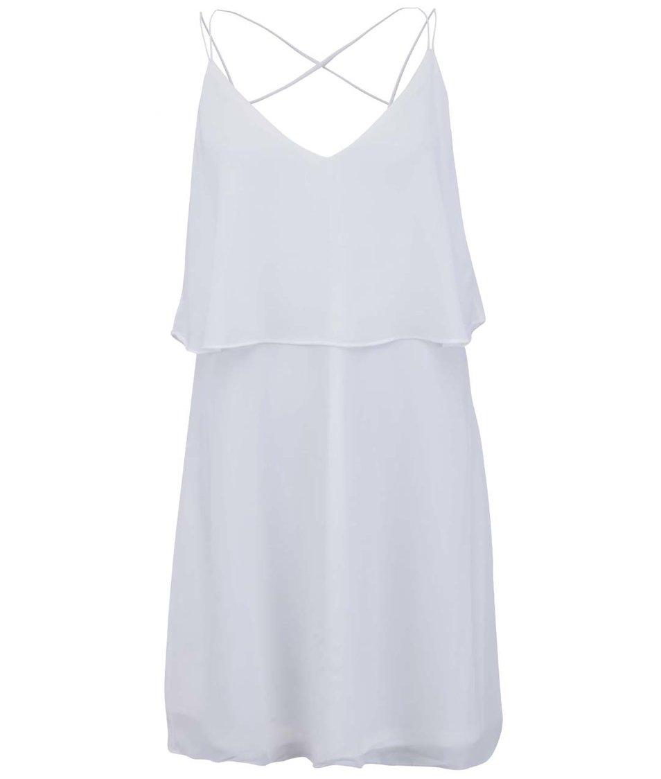 Bílé šaty na ramínka VILA Vijupi