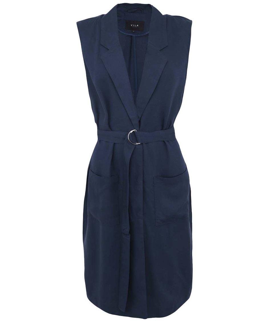 Tmavě modré šaty VILA Ultimate