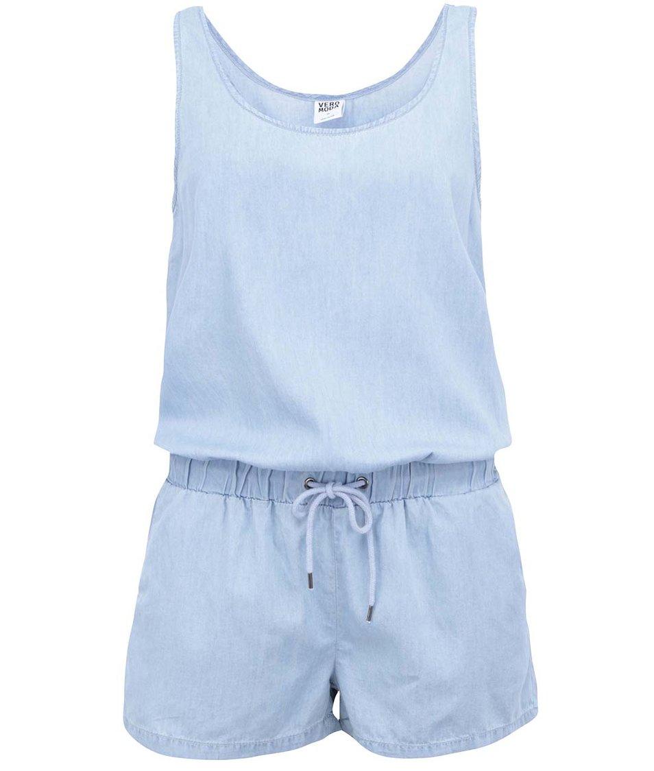 Světle modrý denimový overal Vero Moda Just Easy