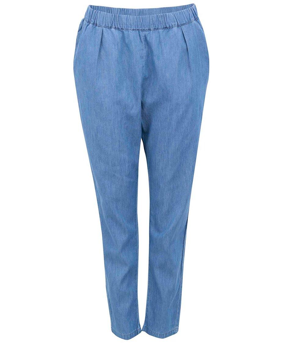 Modré denimové kalhoty Vero Moda Just Easy