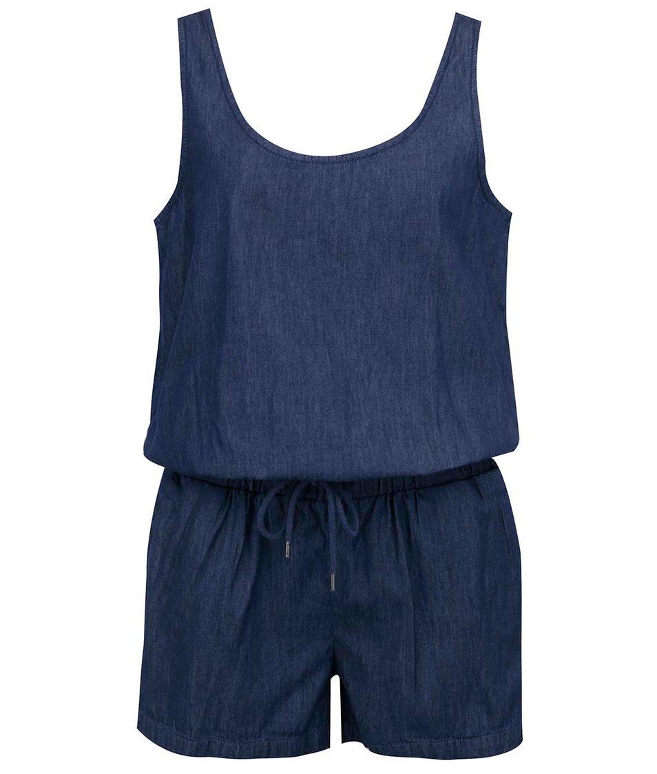 Tmavě modrý denimový overal Vero Moda Just Easy