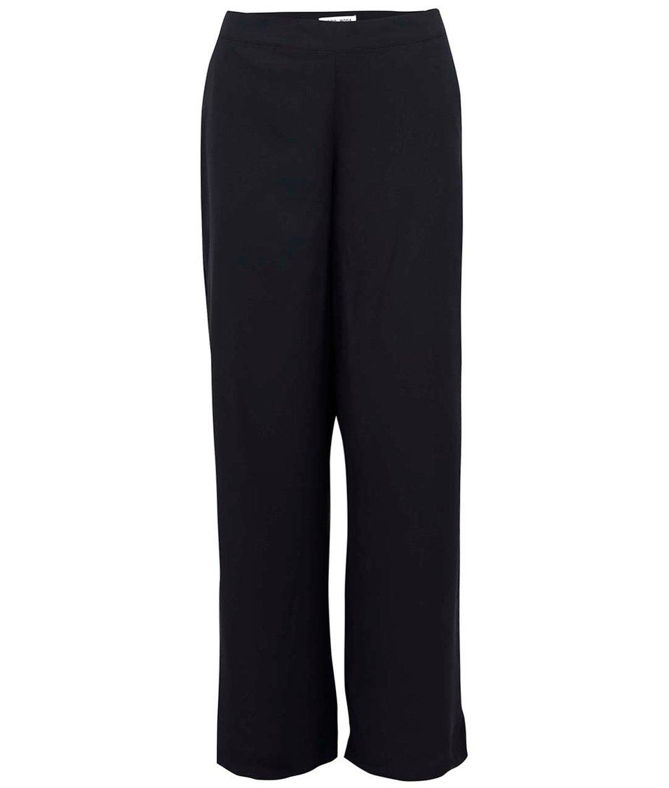 Černé volnější kalhoty Vero Moda Just Easy
