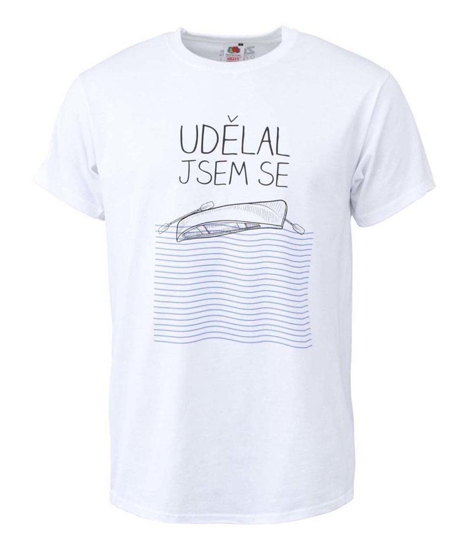 Bílé pánské triko ZOOT Originál Udělal jsem se