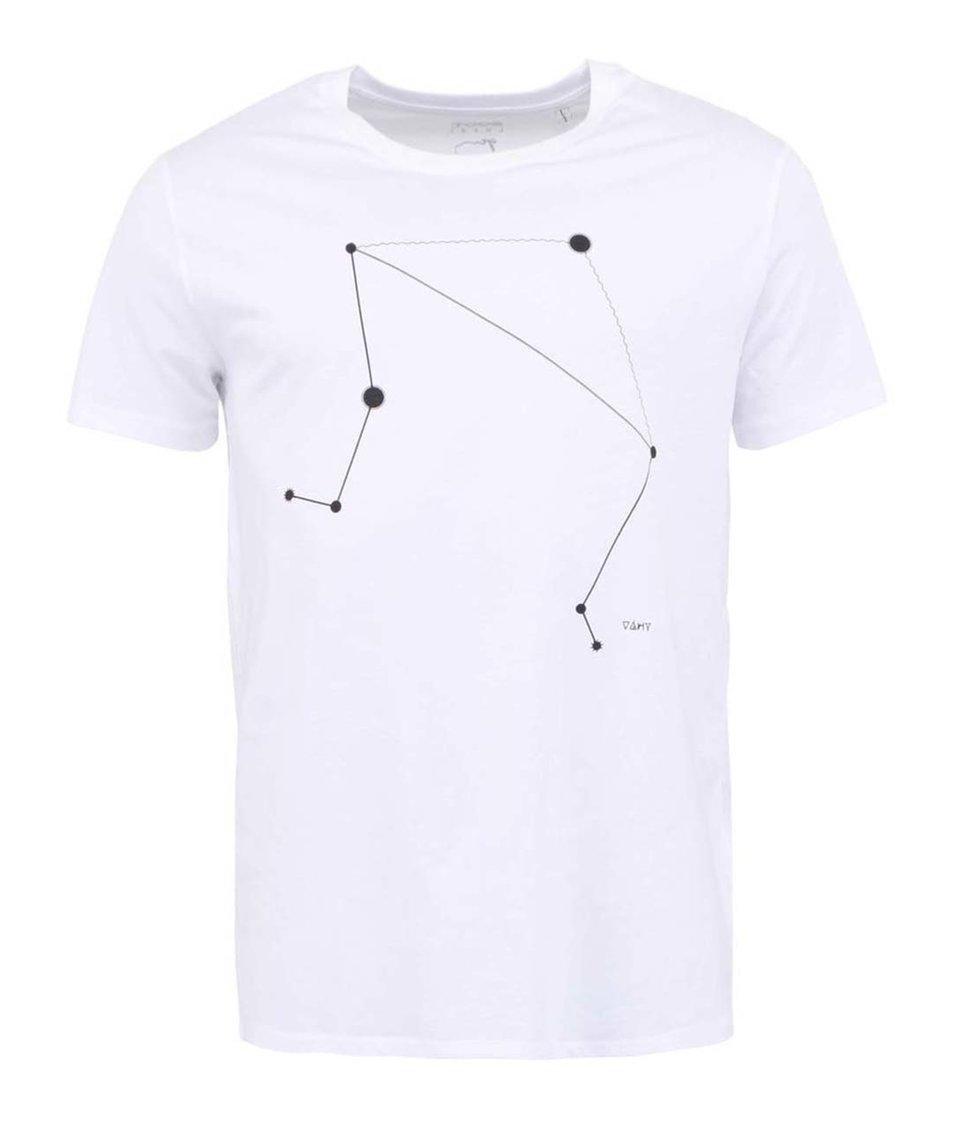Bílé pánské triko ZOOT Lokál Váhy