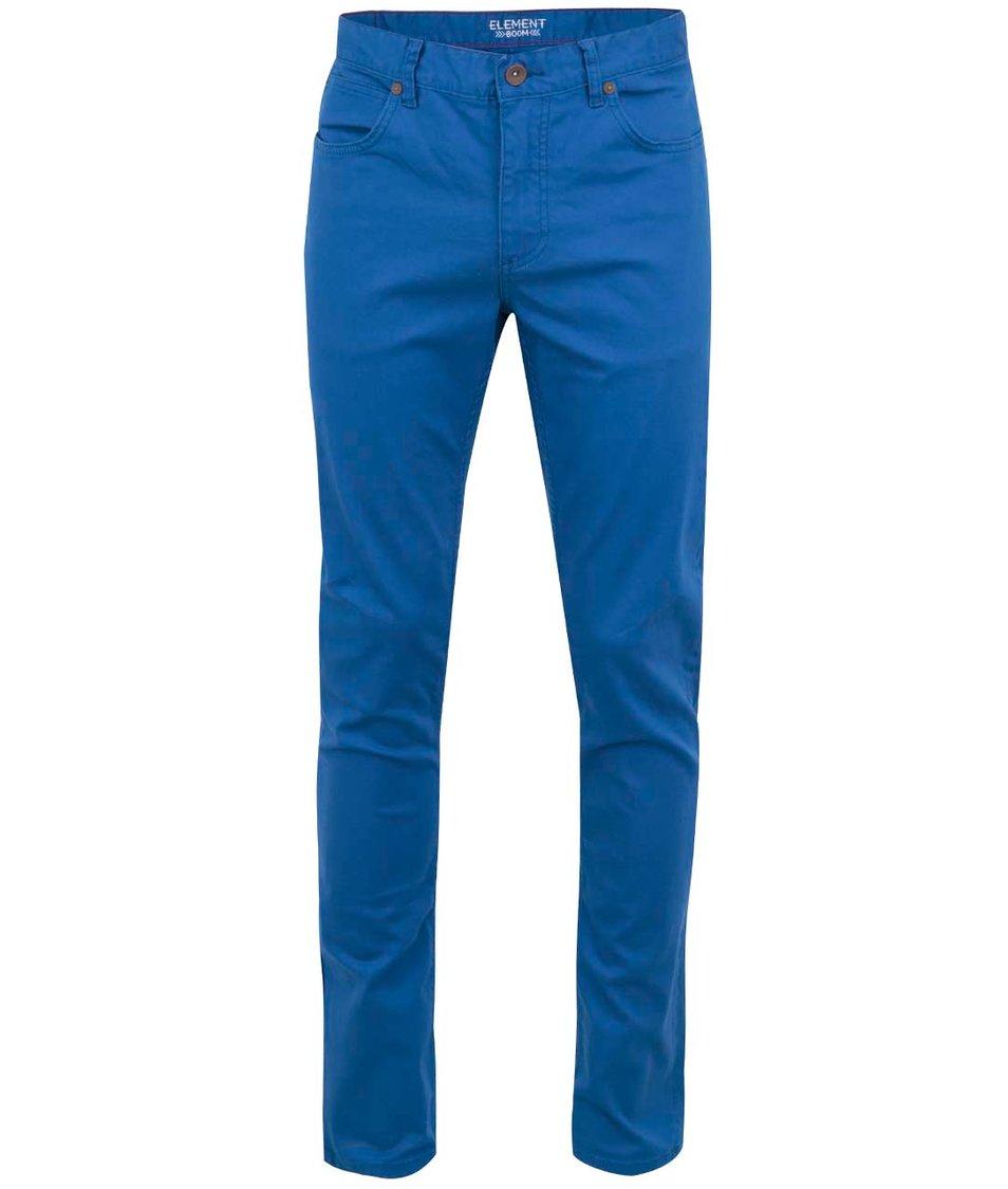 Modré slim kalhoty Element Boom Cobalt
