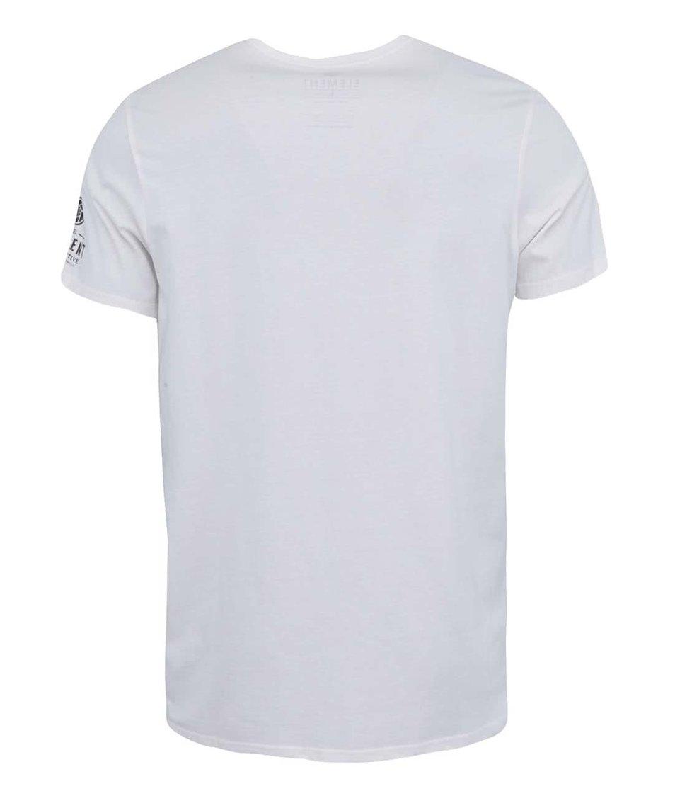 Bílé triko s potiskem Element Marcel Veldman