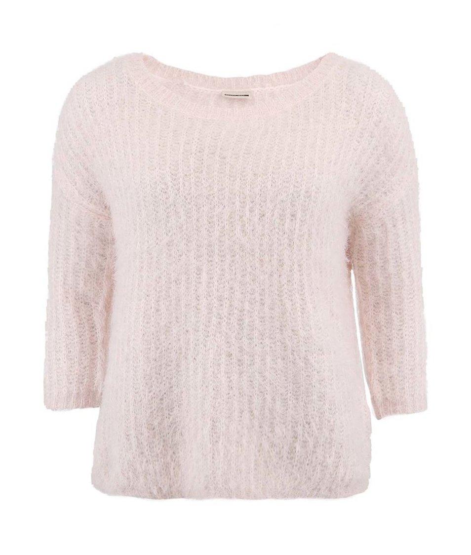 Růžový svetr Noisy May Aubrey
