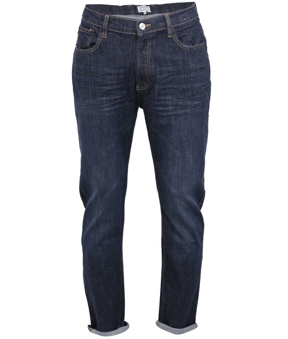 Tmavě modré skinny džíny D-Struct Kinbaku