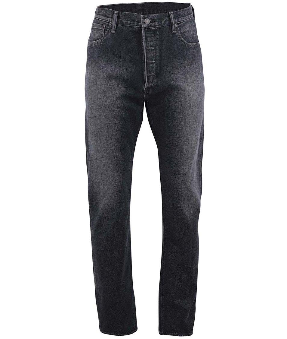 Černé pánské džíny s vyšisovaným efektem Levi's® Spreckles