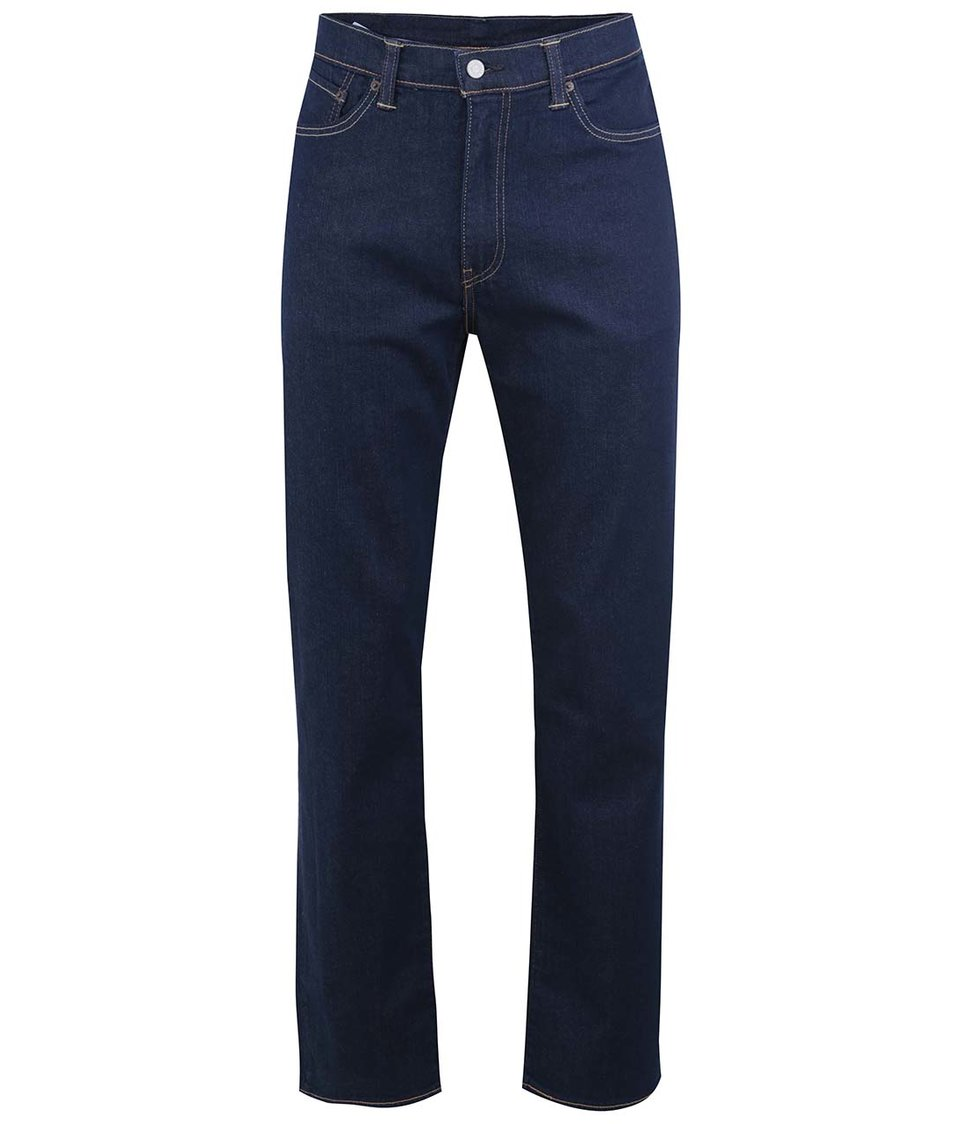 Tmavě modré pánské džíny volnějšího střihu Levi's® Brad