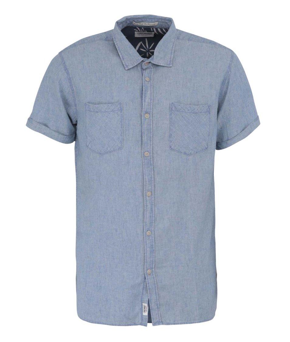 Světle modrá košile Jack & Jones Classic