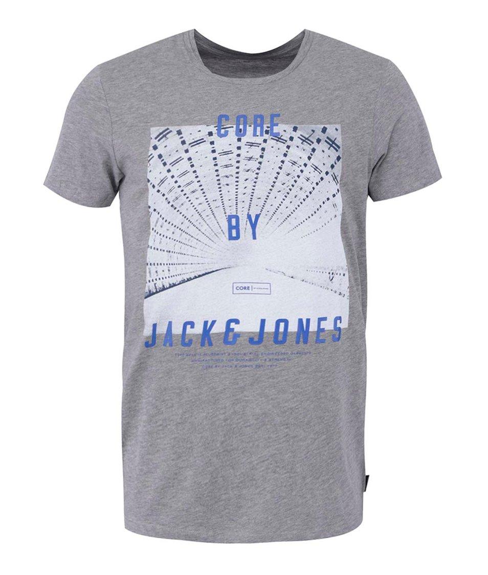 Šedé tričko Jack & Jones Under