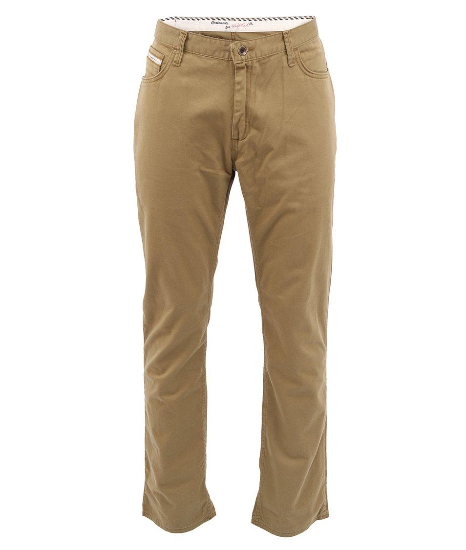 Béžové pánské kalhoty Vans V56 Standard