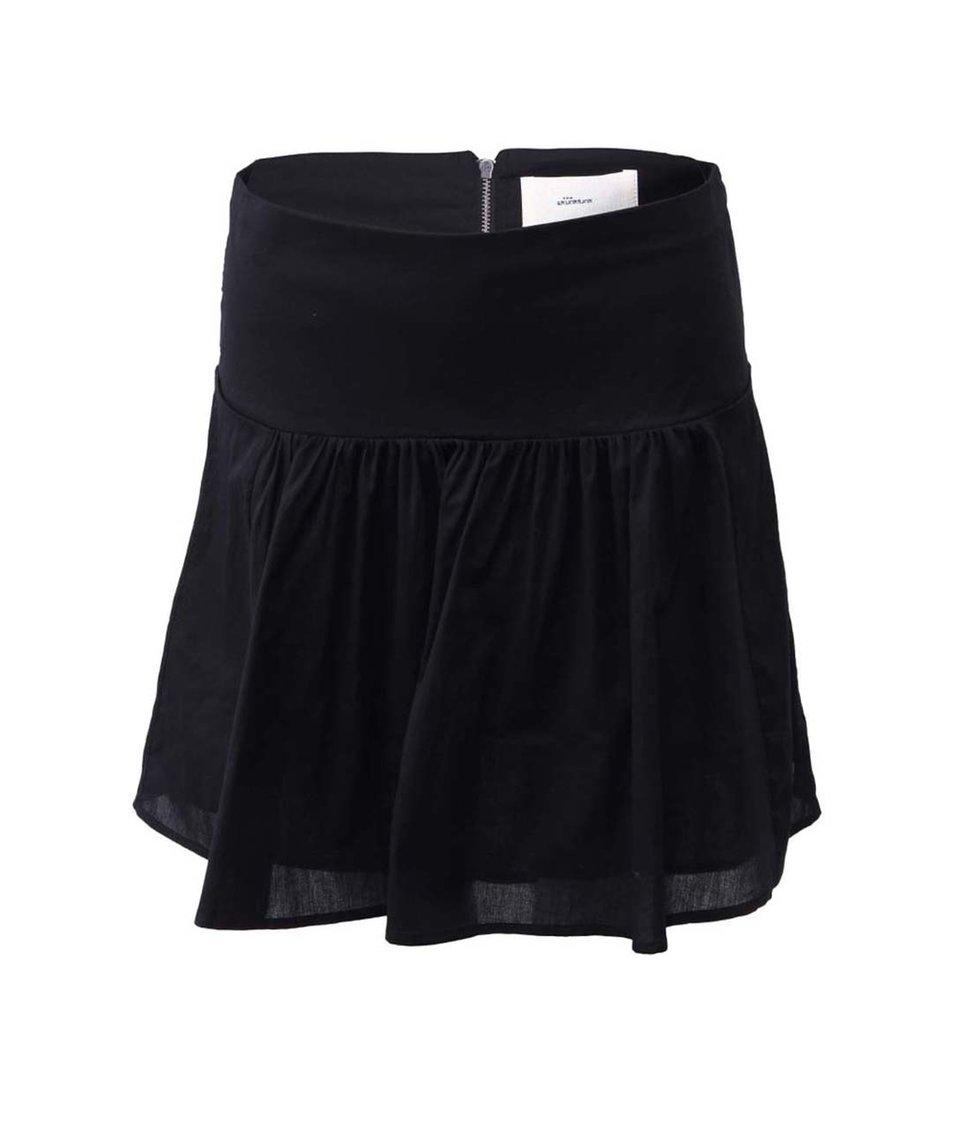 Černá sukně Skunkfunk Lucetta