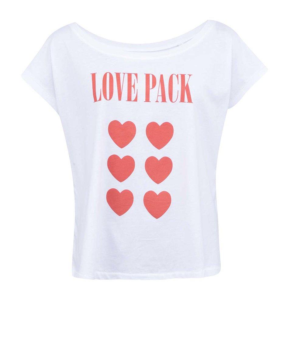 Bílé dámské tričko ZOOT Lokál Love Pack