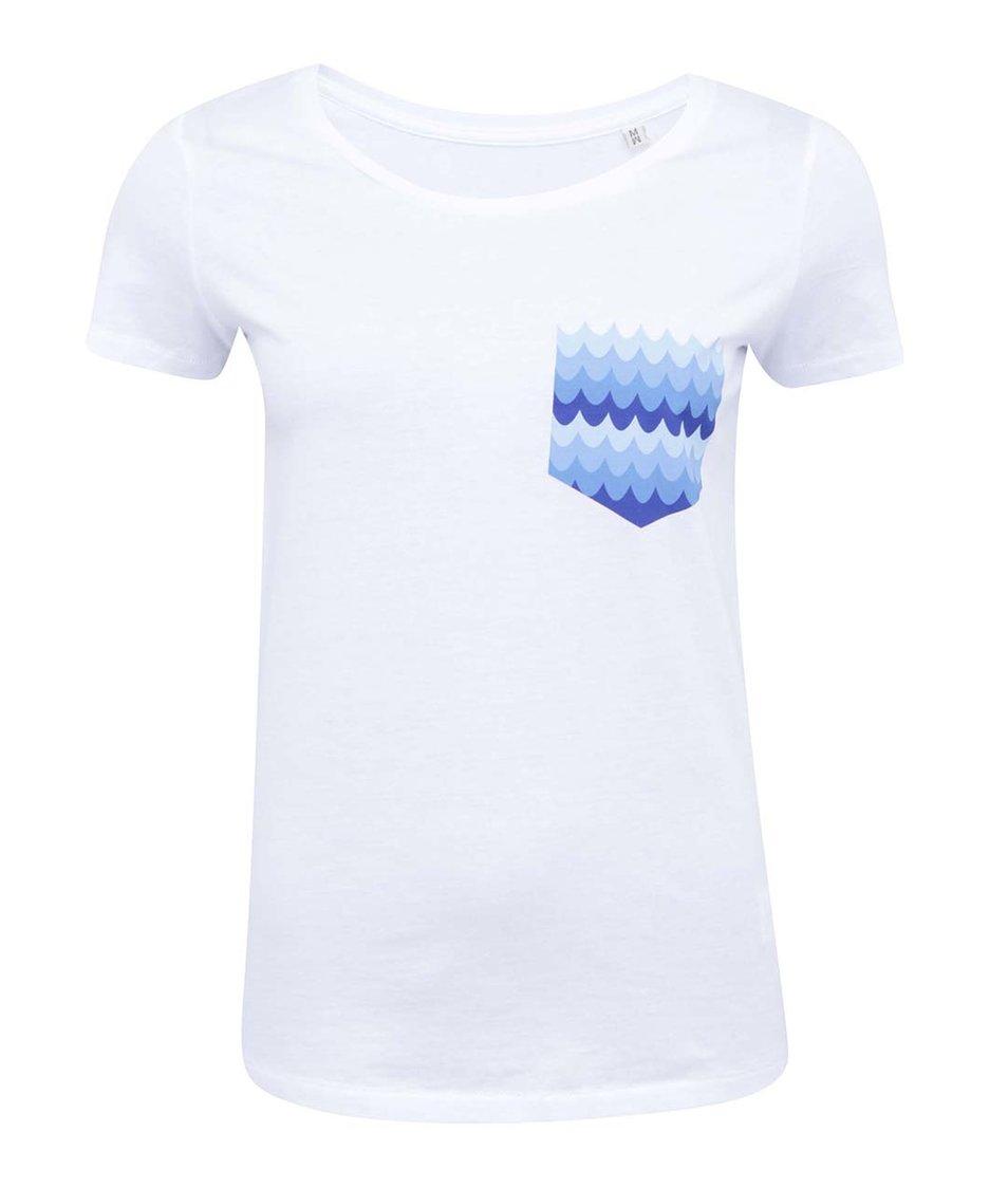 Bílé dámské tričko ZOOT Lokál Kapsa