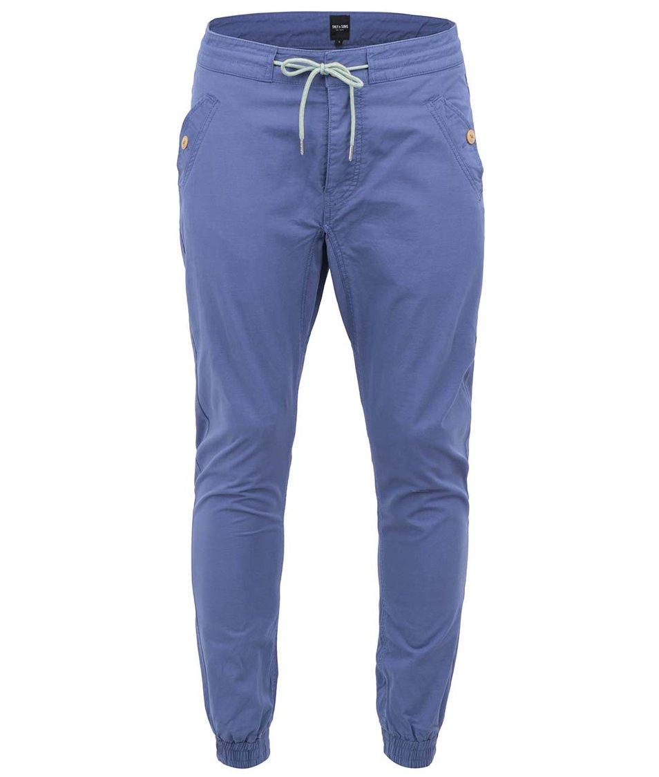 Modré chino kalhoty ONLY & SONS Pavlov