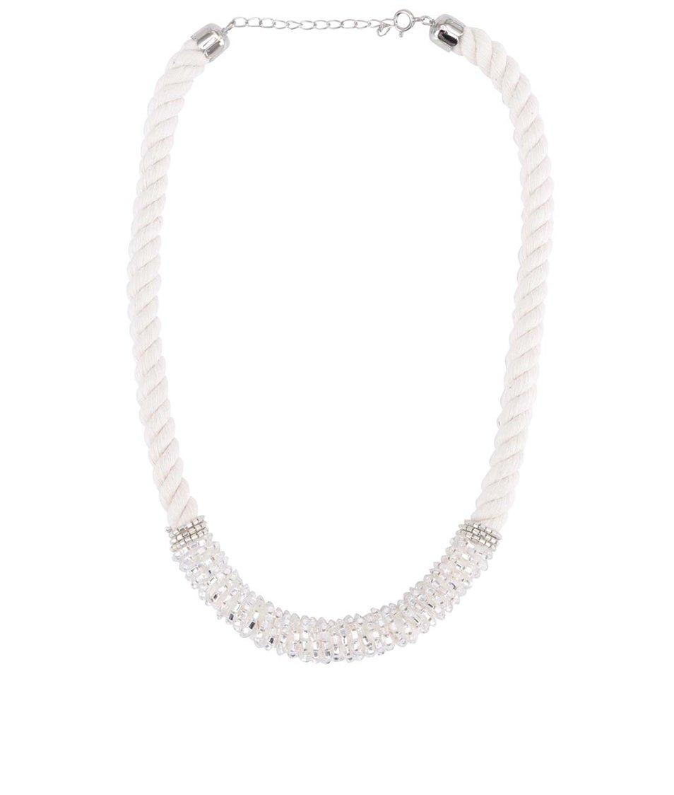 Krémový náhrdelník s korálky ZOOT Lokál