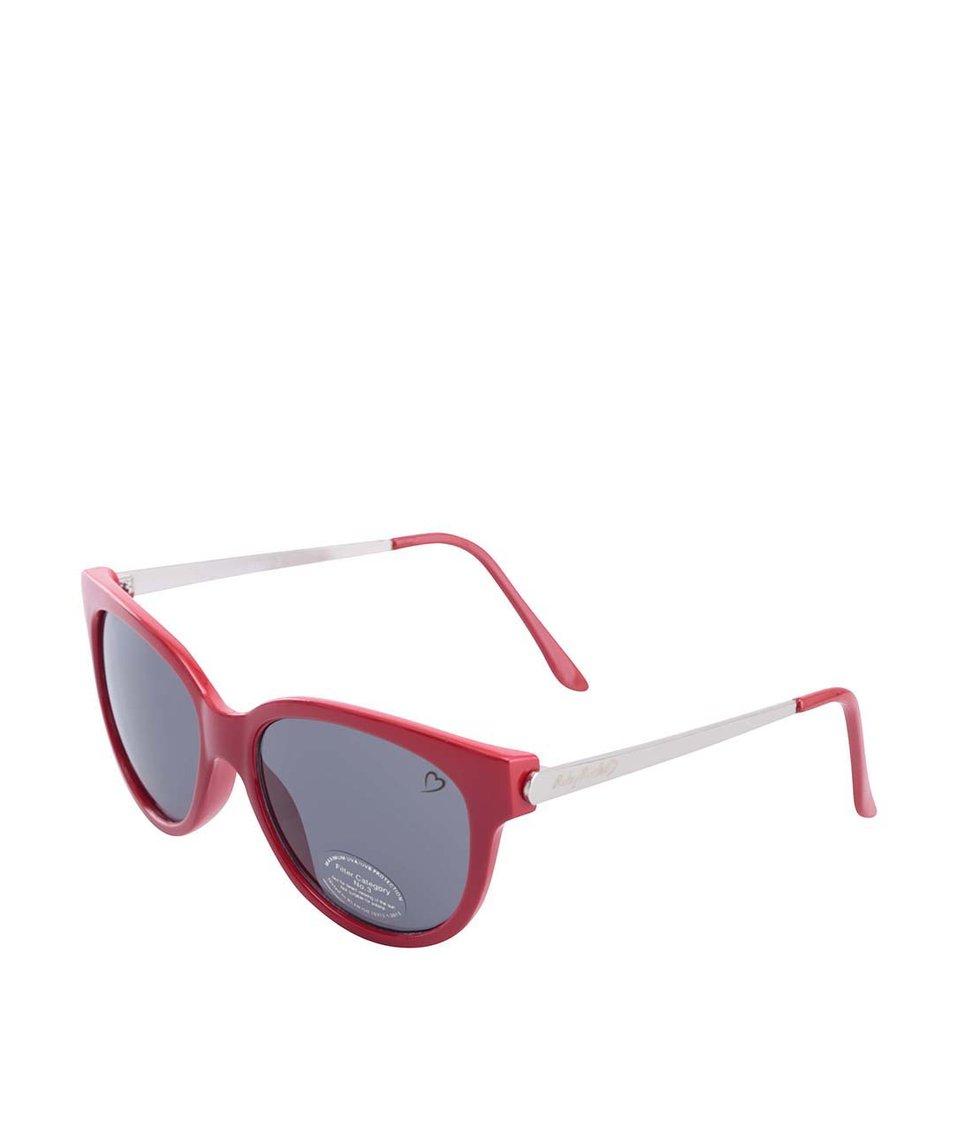 Červené sluneční brýle Ruby Rocks