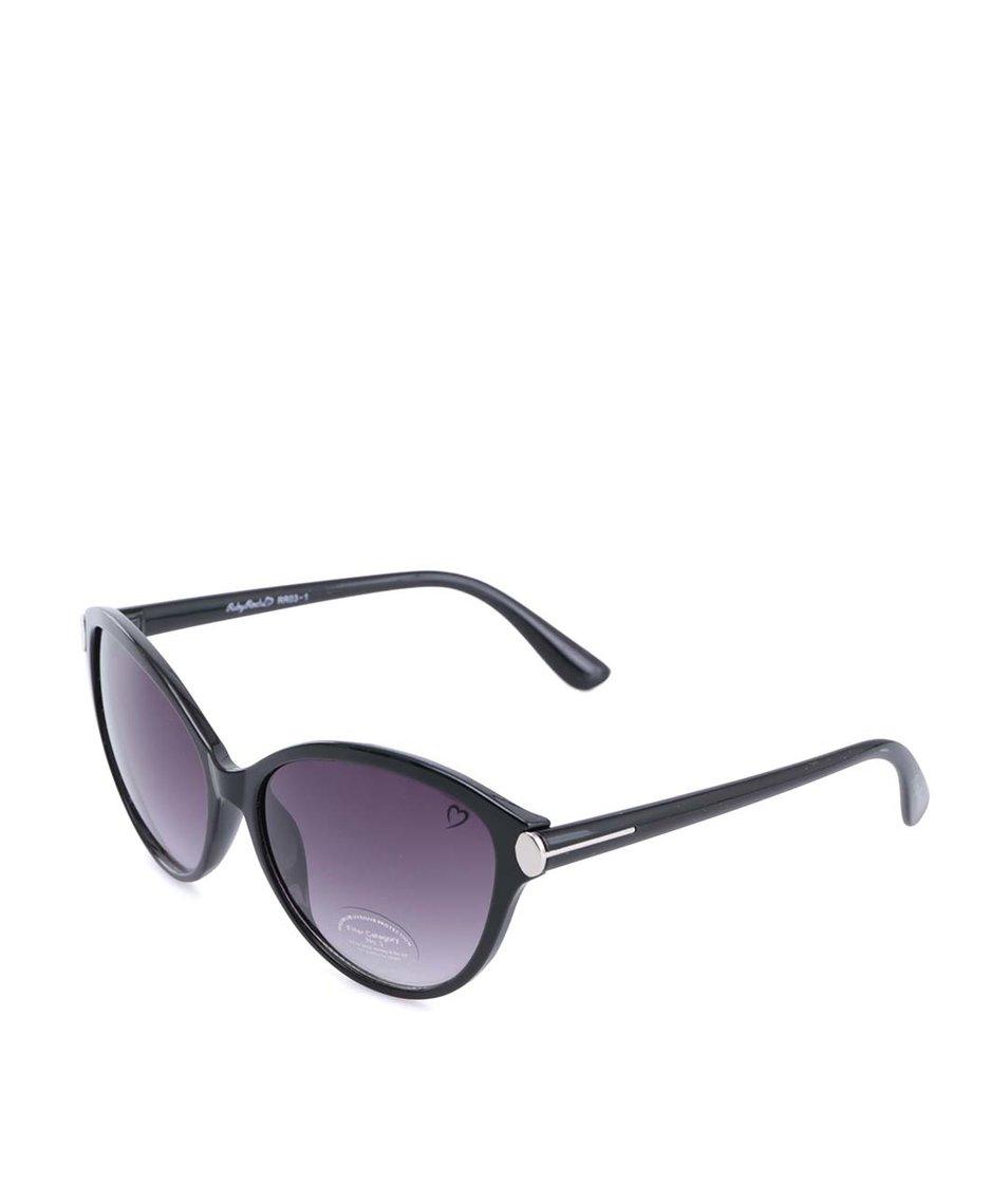 Černé sluneční brýle Ruby Rocks