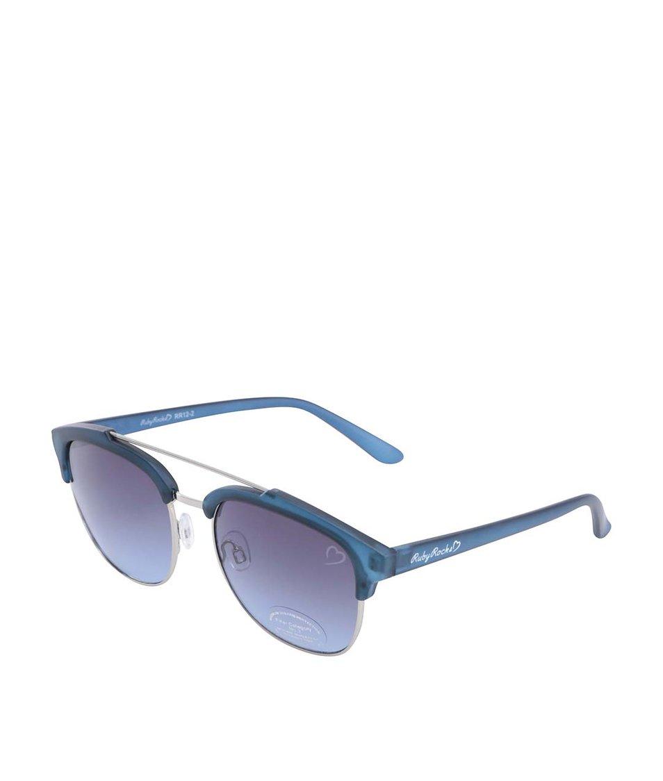 Modré sluneční brýle Ruby Rocks