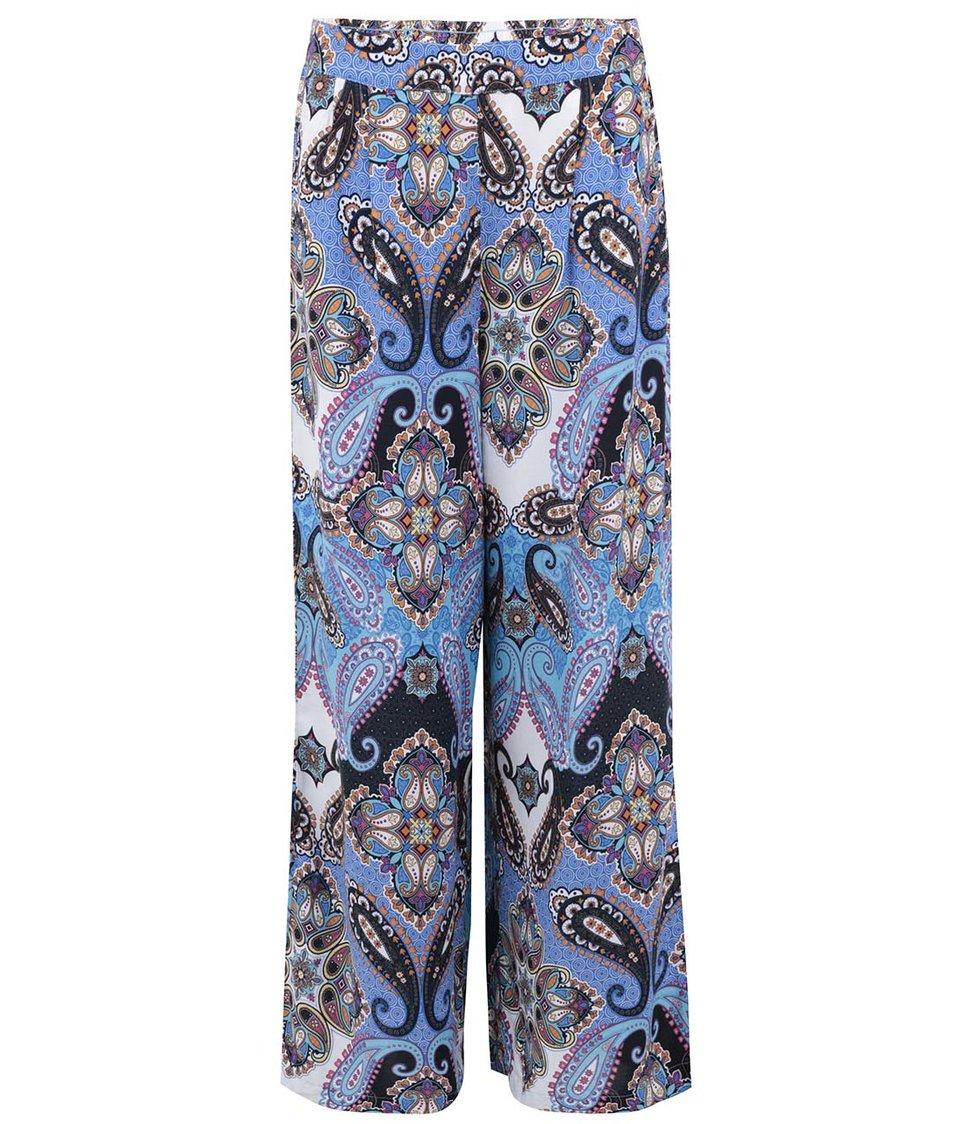 Barevné široké vzorované kalhoty ONLY Choice