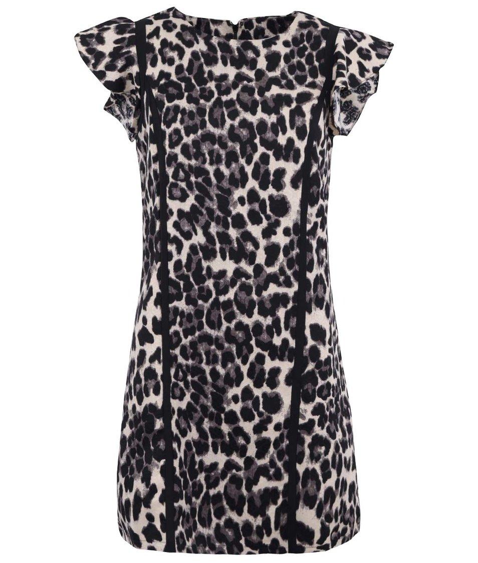 Šaty s leopardím potiskem Paper Dolls