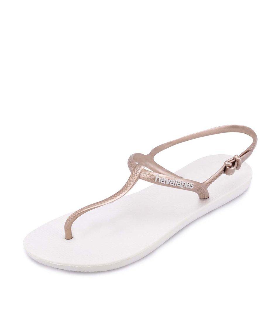 Bronzové dámské sandálky Havaianas Freedom