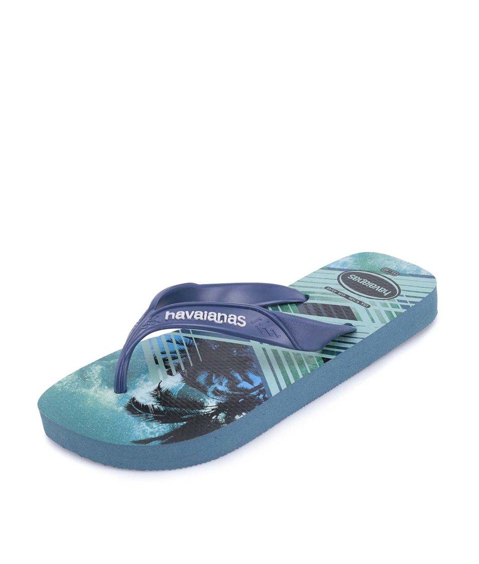Tmavě modré pánské žabky Havaianas Surf