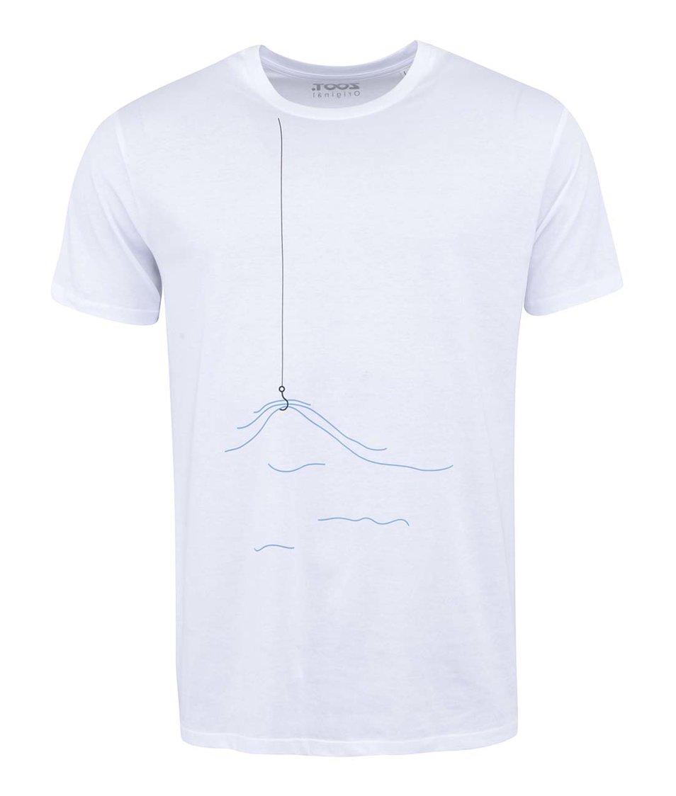 Bílé pánské triko ZOOT Originál Háček