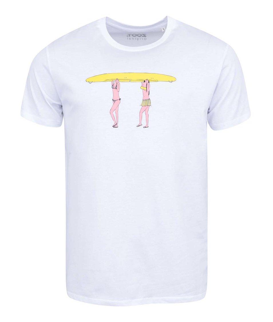Bílé pánské triko ZOOT Originál Holky na vodě