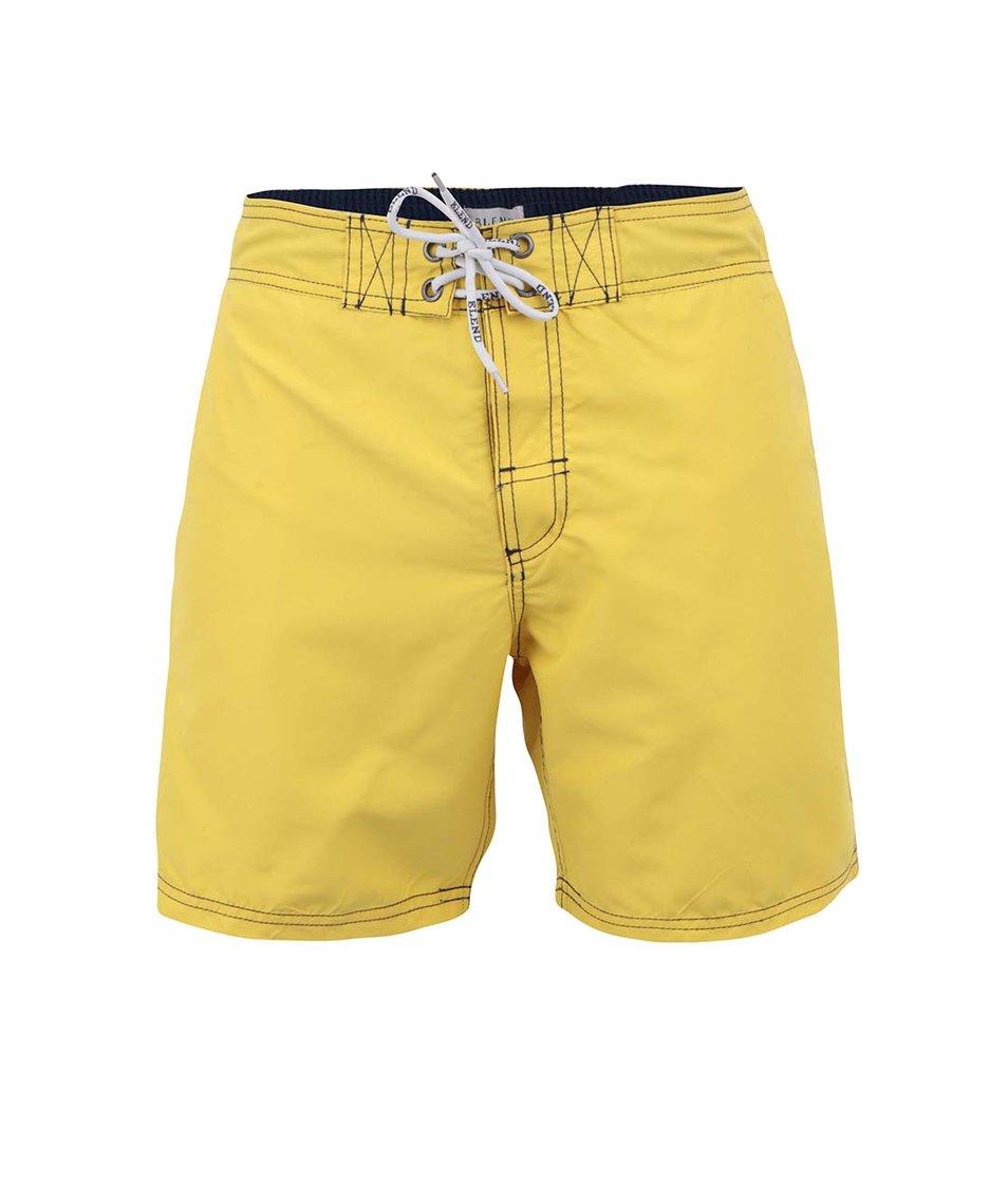 Žluté plavky s tkaničkou Blend