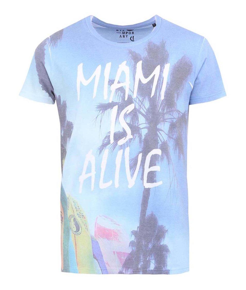 Bílé triko s nápisem !Solid