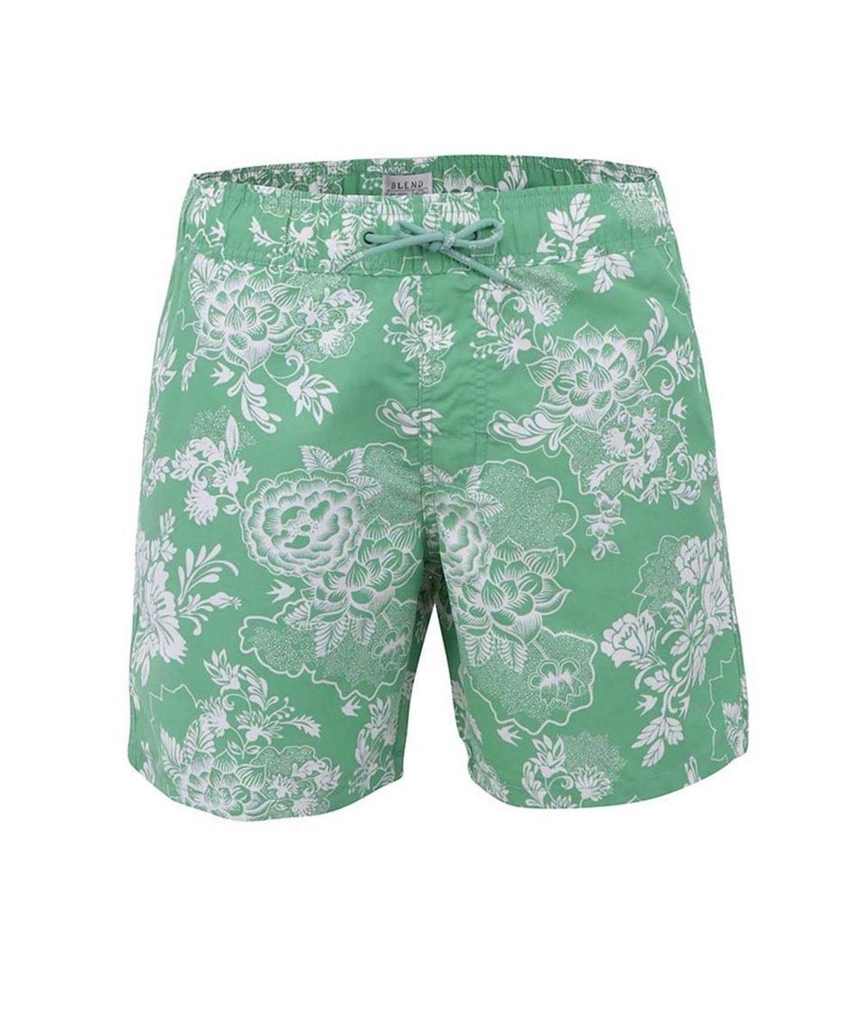 Zelené květované plavky Blend