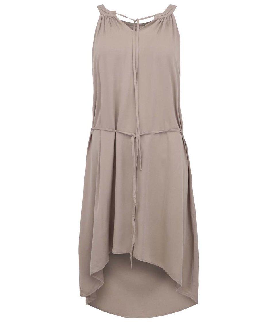 Béžové šaty Vero Moda This Friday