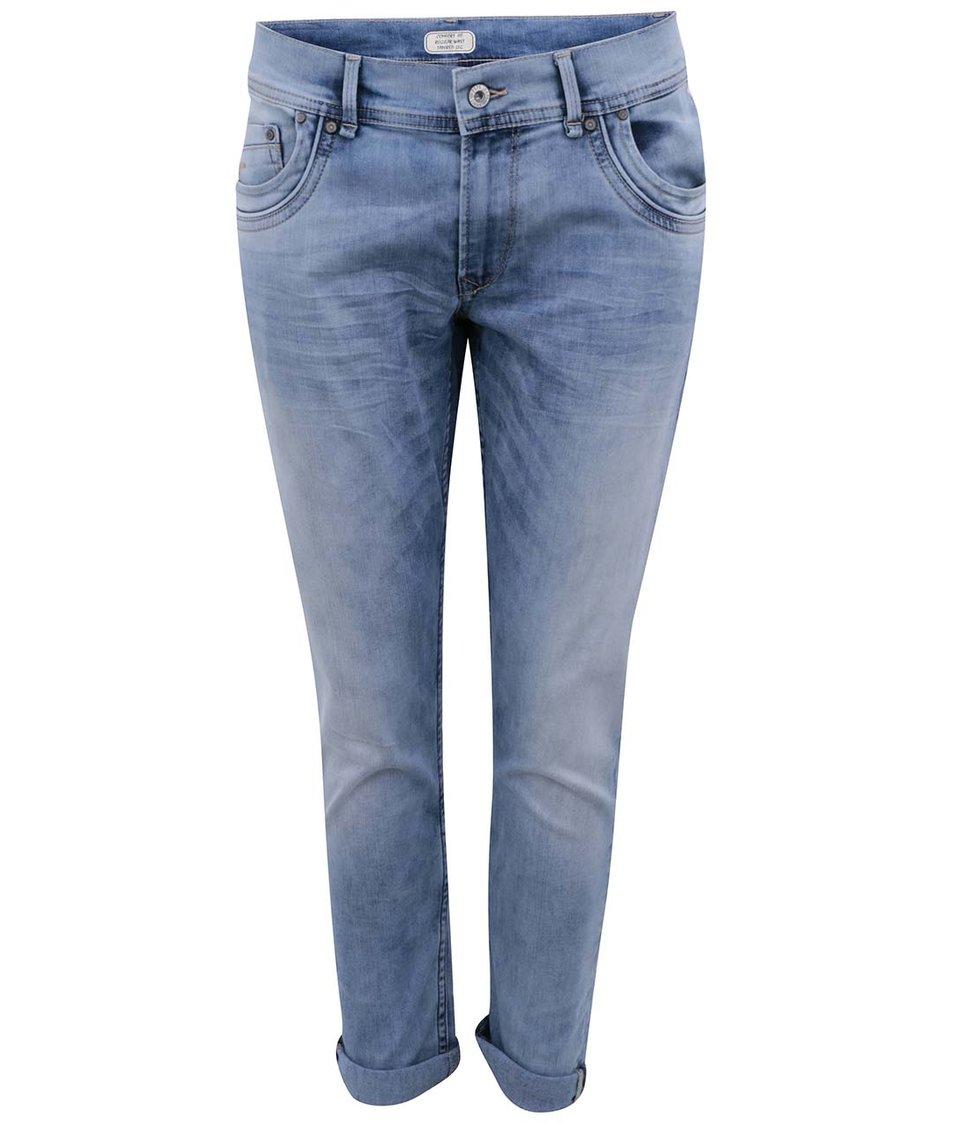 Modré kratší dámské džíny Pepe Jeans Cherry