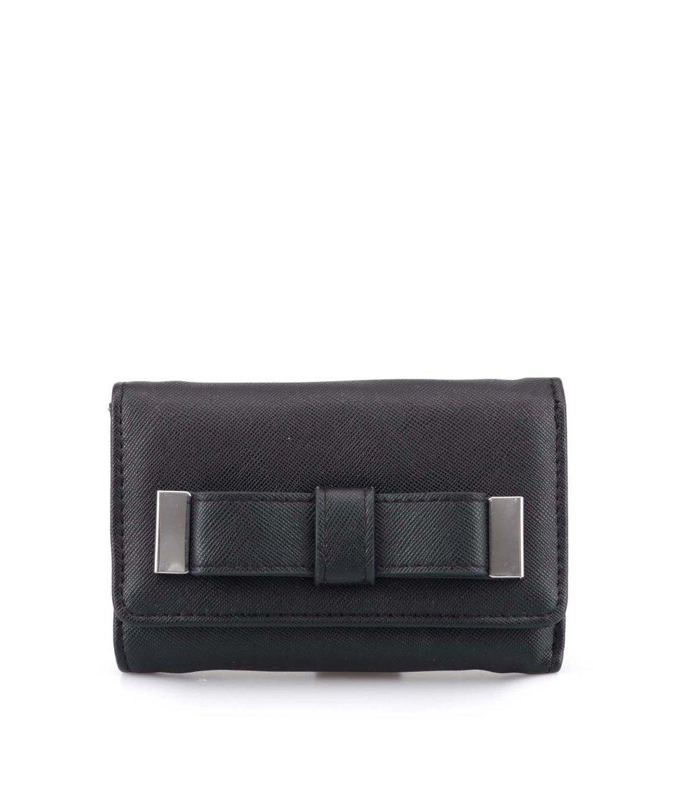 Černá peněženka Pieces Nut