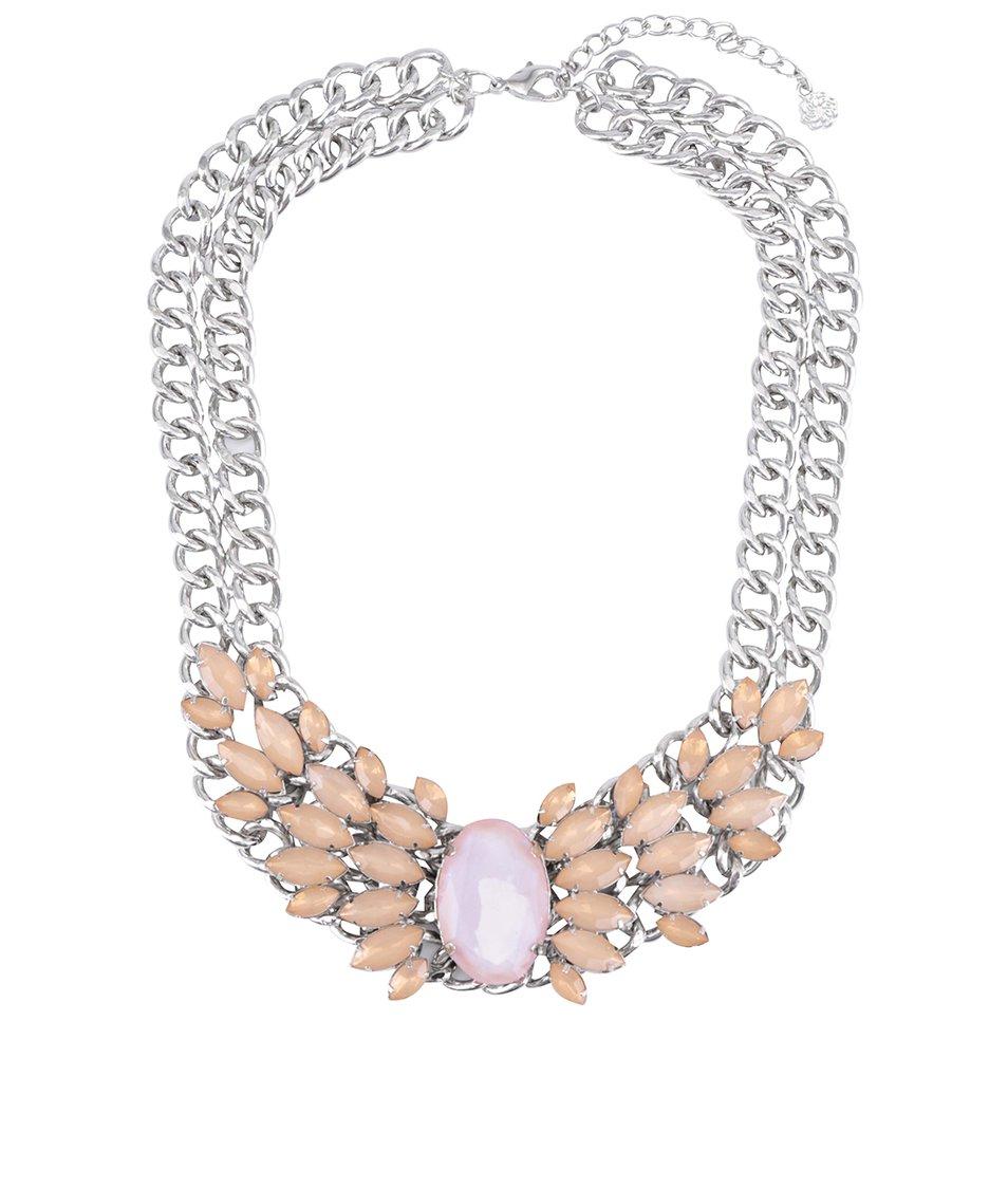 Meruňkový náhrdelník Pieces Noralyn