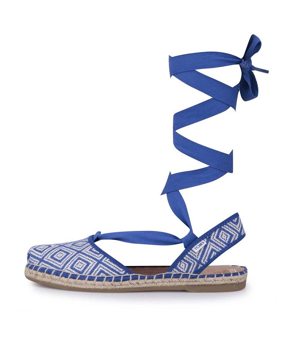 Modré dámské sandály Toms