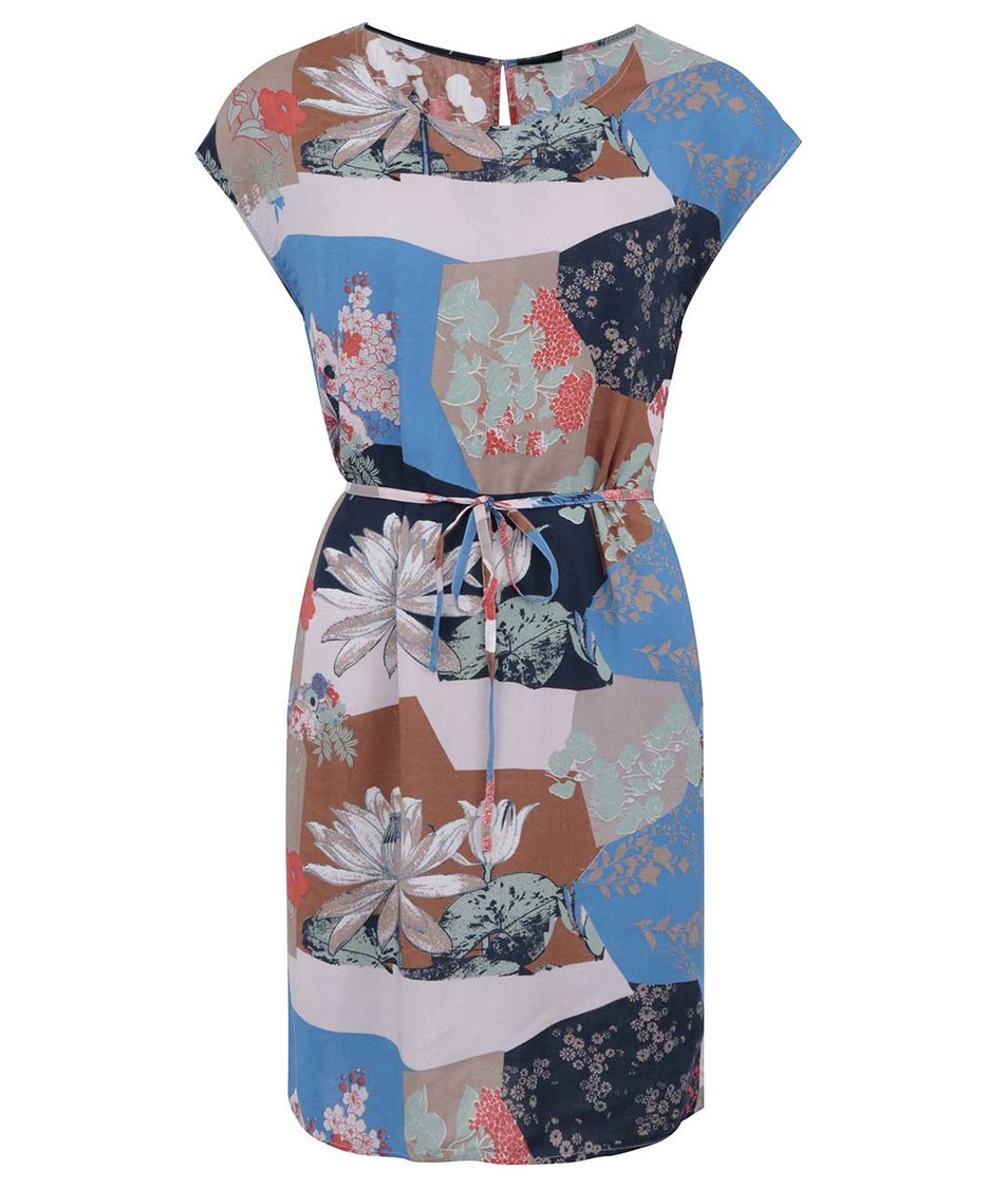 Barevné šaty VILA April