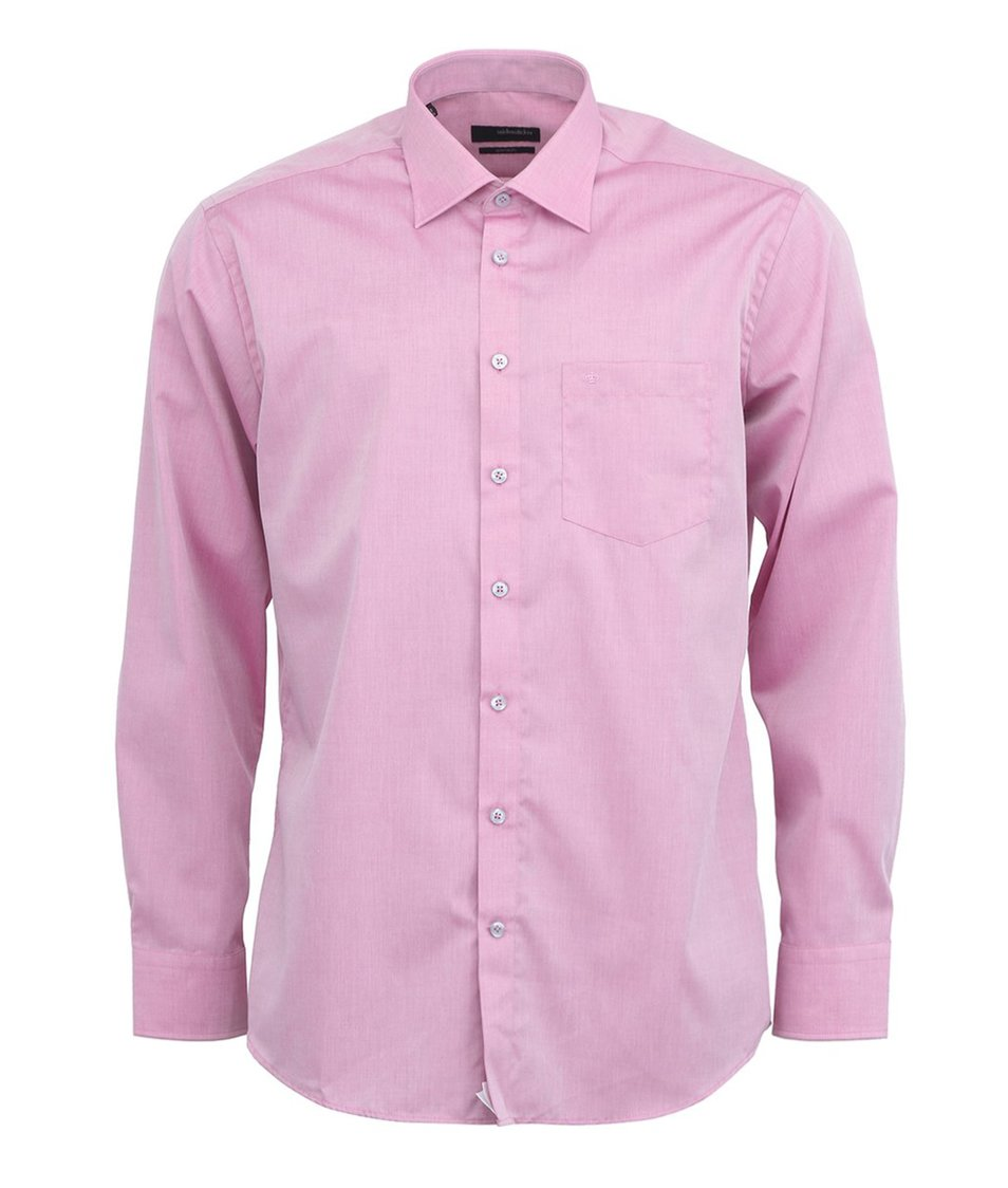 Růžová košile Seidensticker Splendesto Regular Fit
