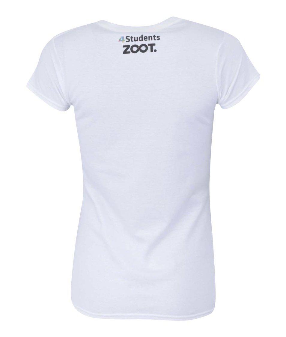 Bílé dámské triko I Love Jižák