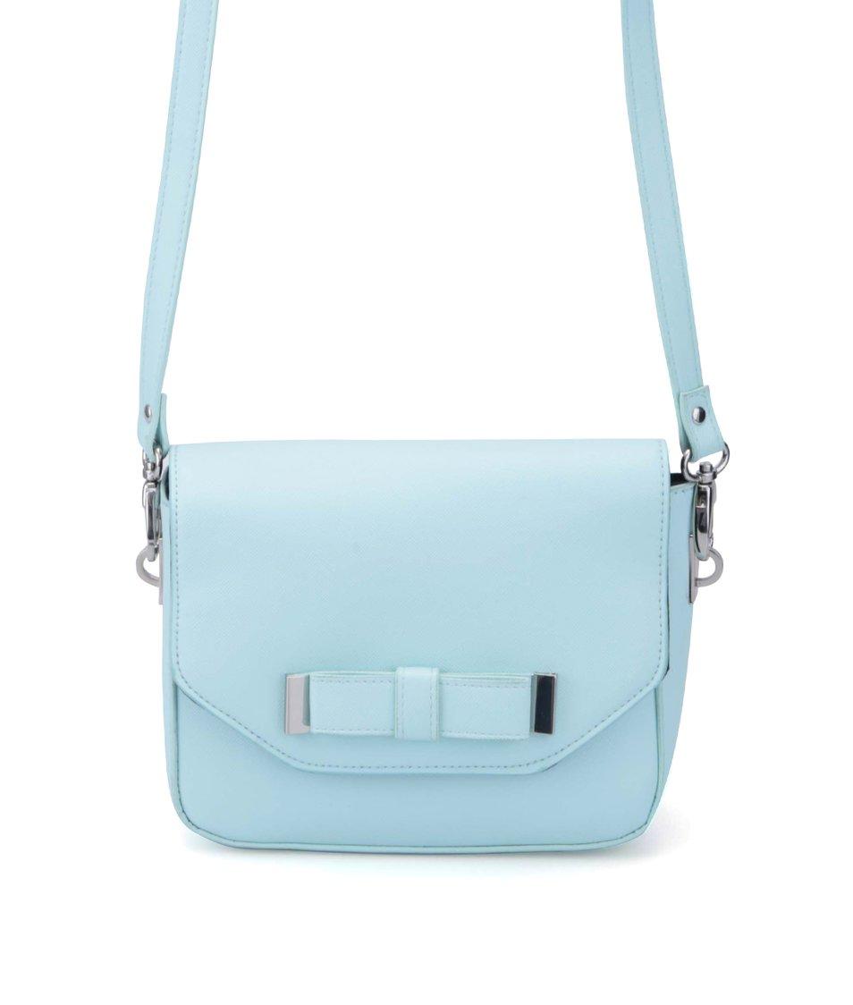 Světle modrá menší kabelka přes rameno Pieces Nut