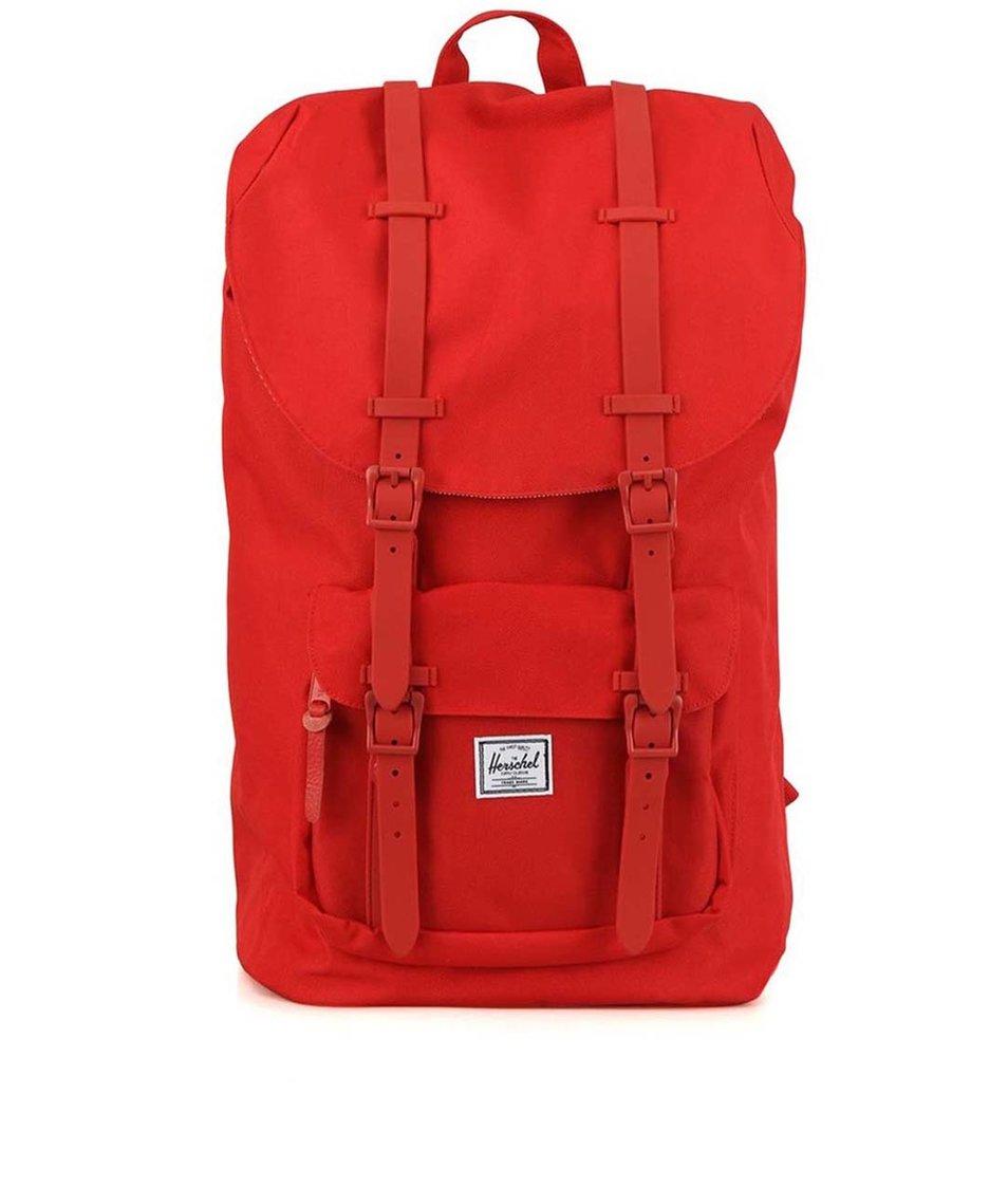Červený batoh Herschel Little America