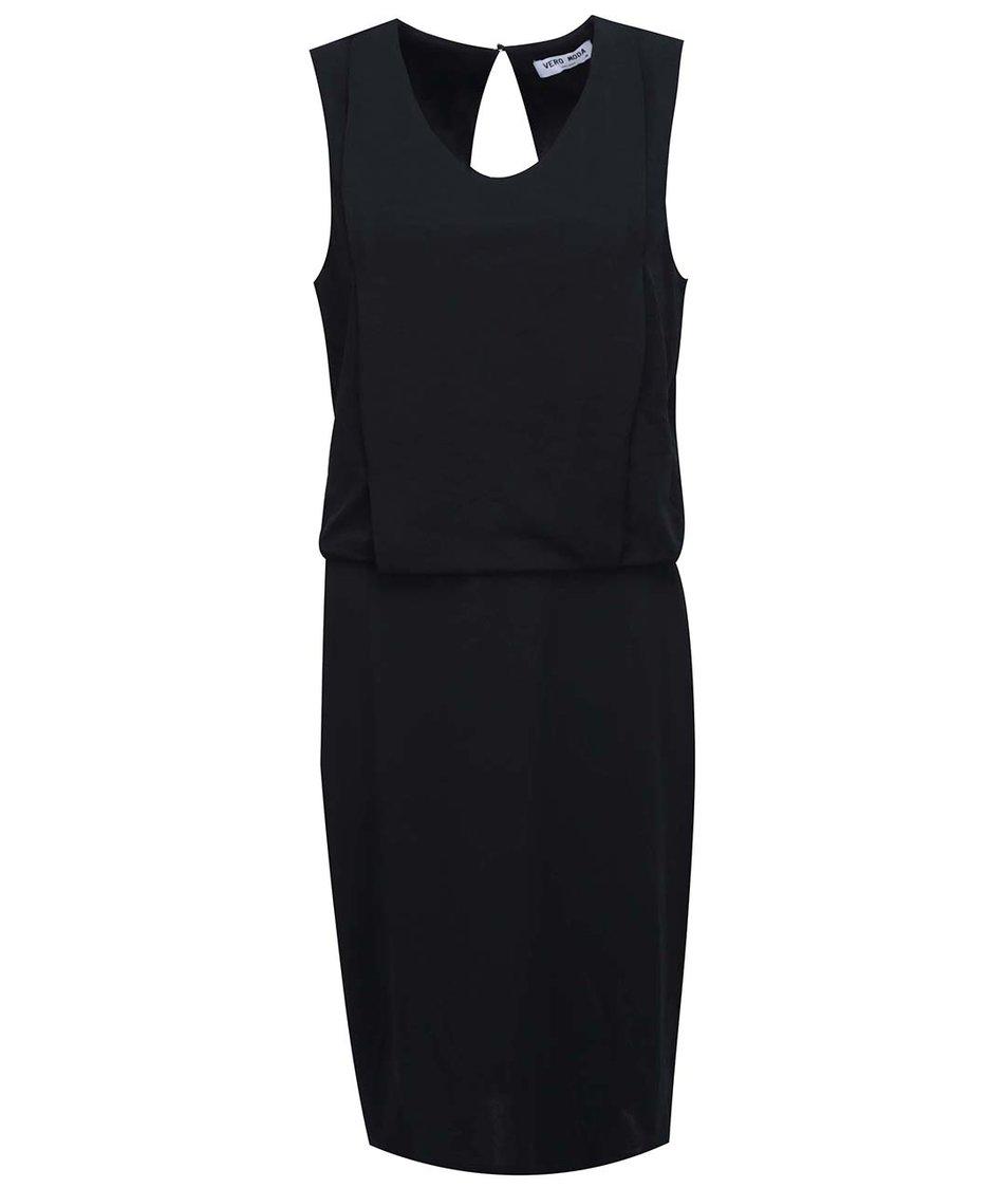 Černé šaty Vero Moda Mood