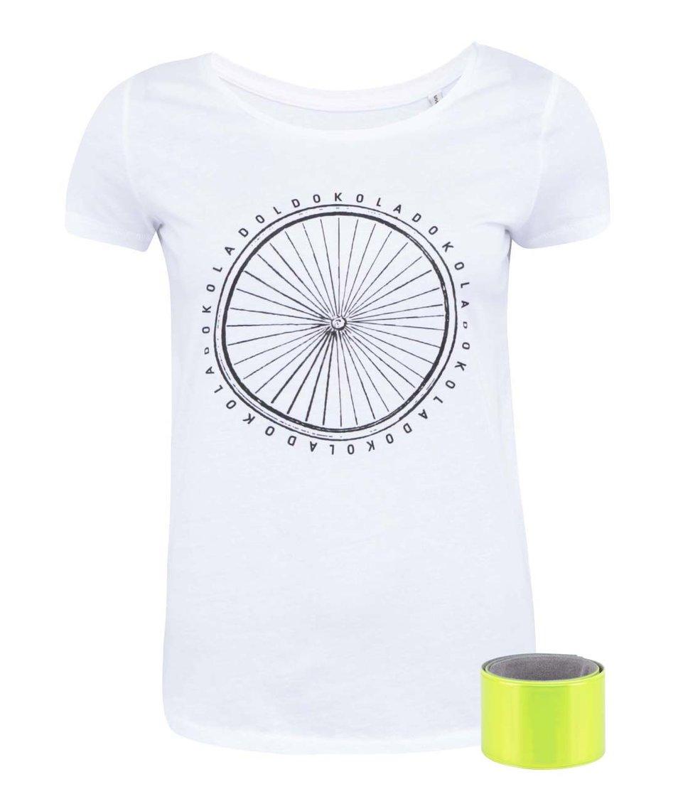Bílé dámské tričko ZOOT Originál Dokola