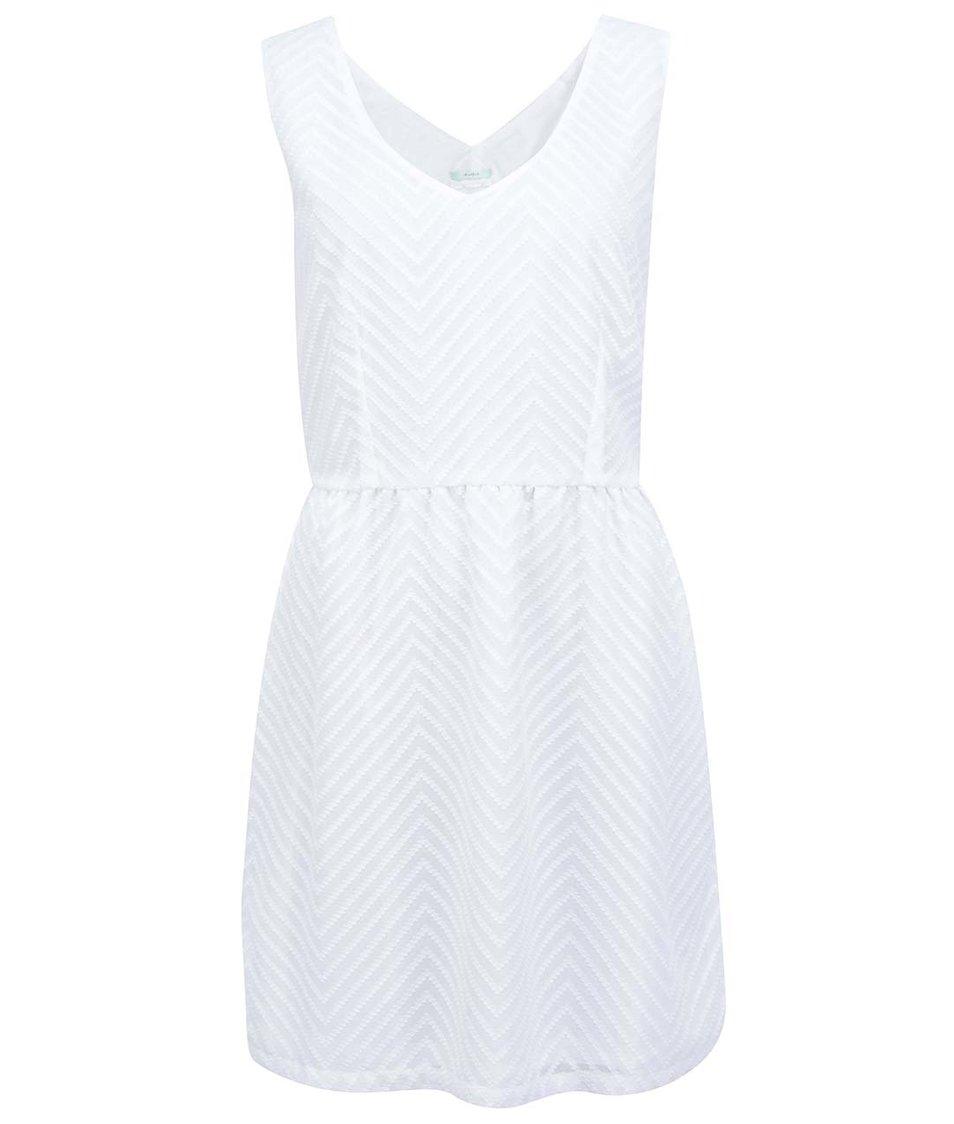 Bílé šaty se vzorem Skunkfunk Ugetta