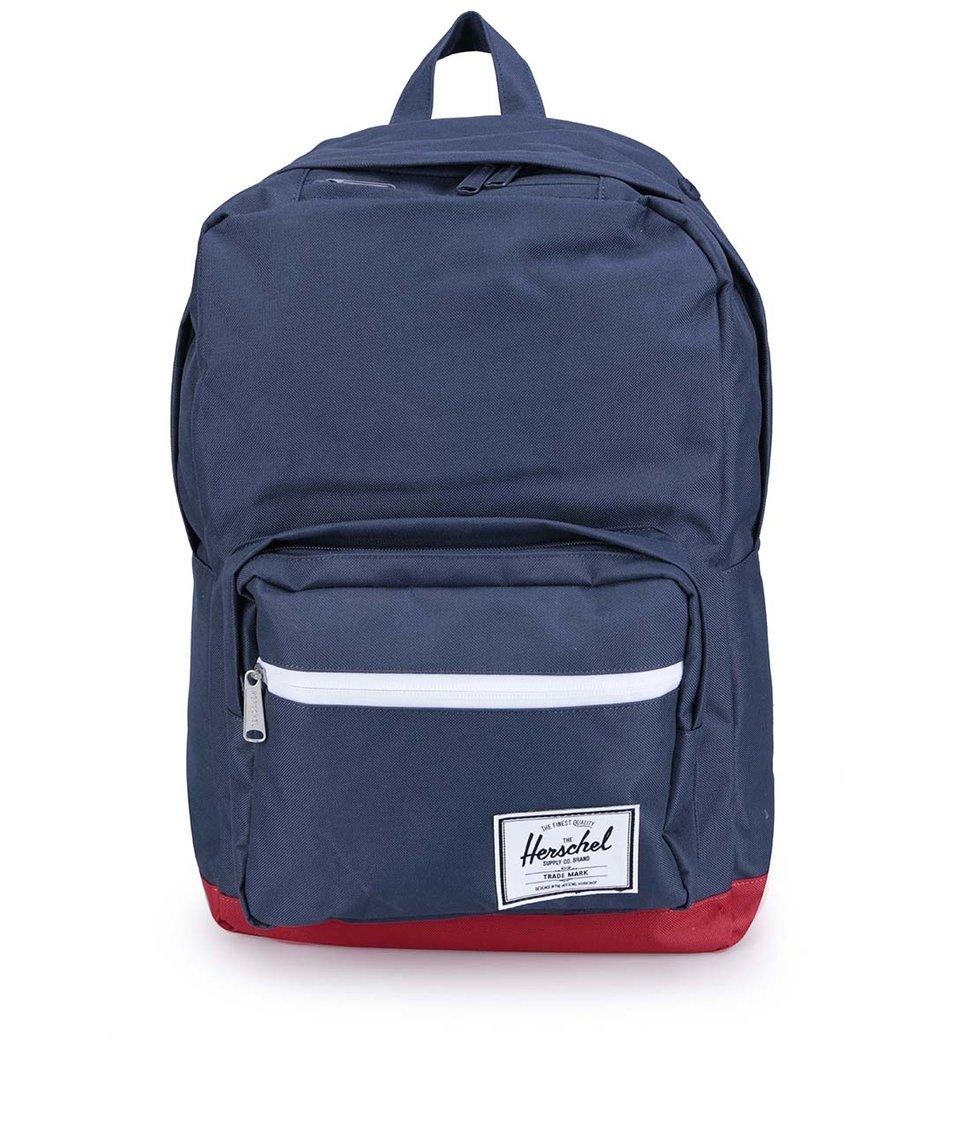 Červeno-modrý batoh Herschel Pop Quiz
