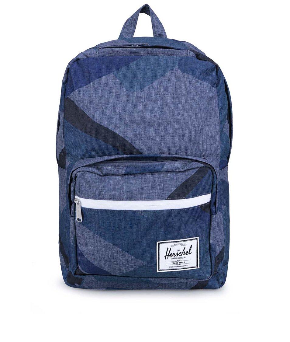 Modrý vzorovaný batoh Herschel Pop Quiz
